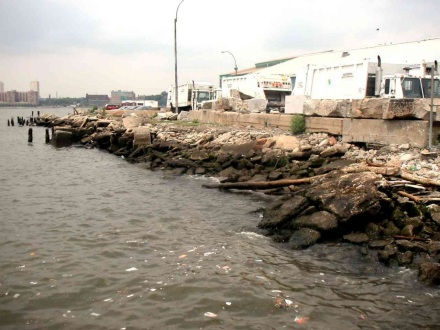 <b>Don't forget your towel!</b> [Proposed beach site at Pier 52. CREDIT: MELISSA MAHONY]