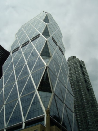 The Hearst Building.