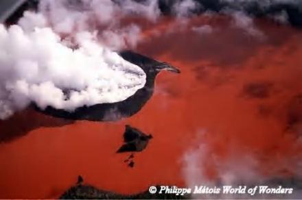 Lake Voui, atop Vanuatu's Ambae Volcano.