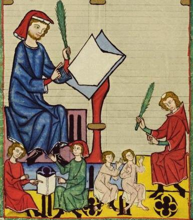 [Codex Manesse. CREDIT: Wikipedia.org]