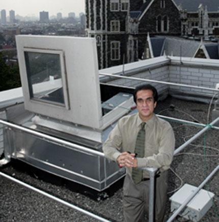 Reza Khanbilvardi [CREDIT: www.cuny.edu]