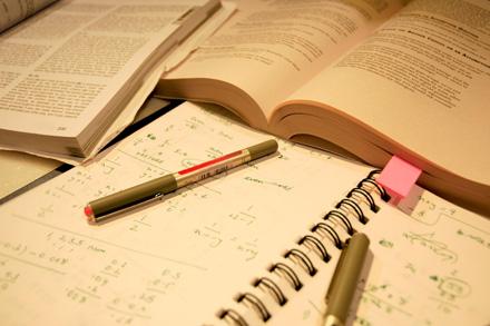 Study materials [CREDIT: ARJUN KARTHA]