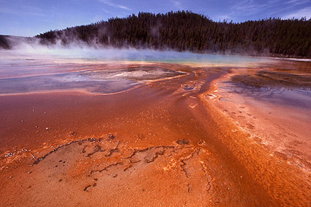 Grand Prismatic, Yellowstone National Park. [CREDIT: J. SCHMIDT]