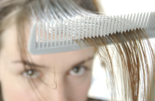 Gray hair can happen at any age--even in your teens or early twenties. [Credit: Abouthair.com]