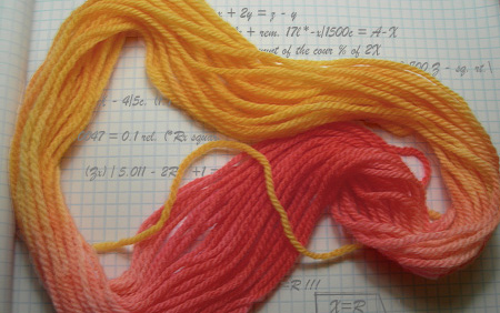 Yarn: a new tool for tying up mathematical loose ends.  [Photo Credit: Jess Bach, Alterations: Molika Ashford]