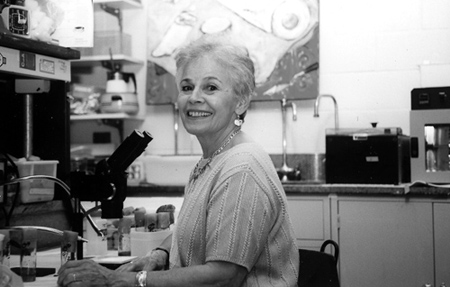 Reba Goodman, a bold pioneer in a scientific field dominated by men. (Photo courtesy of Reba Goodman.)
