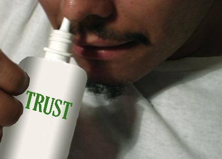 A hormone that manipulates trust. [Credit: Molika Ashford]