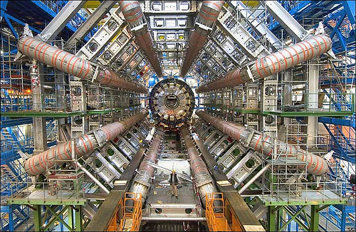 The LHC is out of commission while one damaged section warms up for repairs. <br> [Credit: CERN]