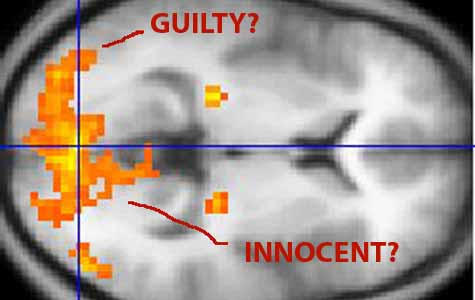 Can an fMRI like this one detect lies? [Credit: Washington Irvine, Wikimedia Commons]