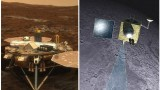 Phoenix lander goes quiet as India shoots the Moon