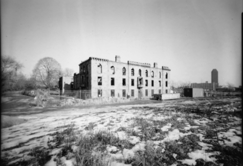 This abandoned smallpox hospital on Roosevelt Island in New York inspires a researcher looking to <br> eradicate tuberculosis [Credit: gmpicket, flickr.com].