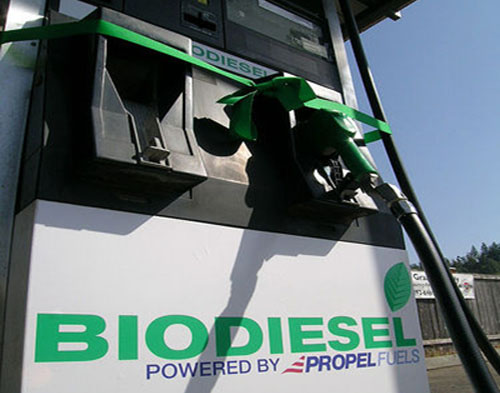 Biodiesel blends can be poured directly into existing boilers to heat buildings, cutting back on pollution and carbon emissions. [Credit: Rob E, flickr.com]