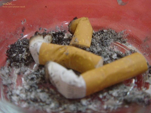 Smoking bans: smoker's blight, cardiologist's bliss. [Credit: Saudi..., flickr.com]