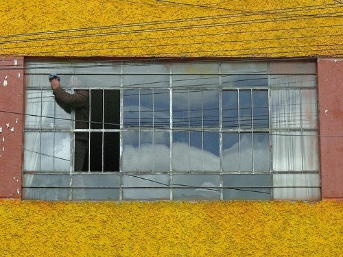 Windows can be used for more than a view - for virtual environmental pollutant flypaper. [Credit: themanwithsalthair, flickr.com]