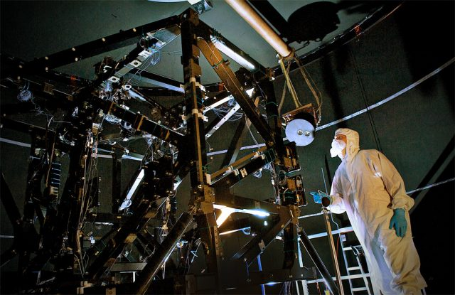 NASA Weaves Special Fibers for Webb Telescope