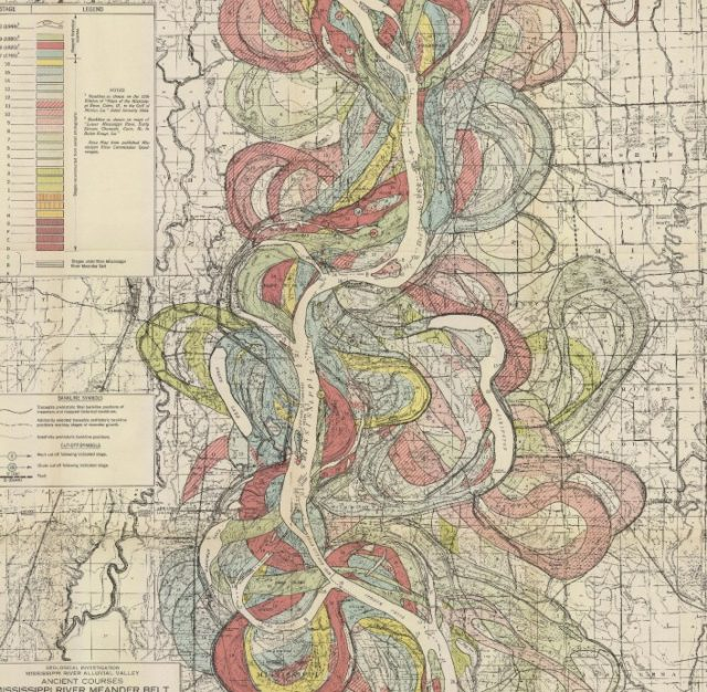 Geomorphology and the Mississippi