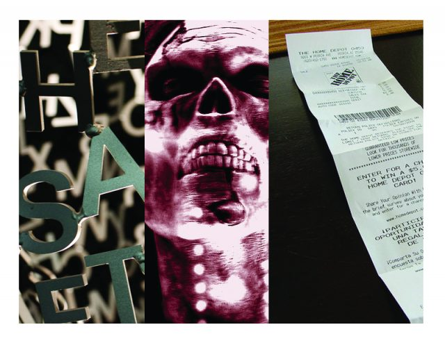 Typographic tweaks, risky receipts, and the zombie apocalypse