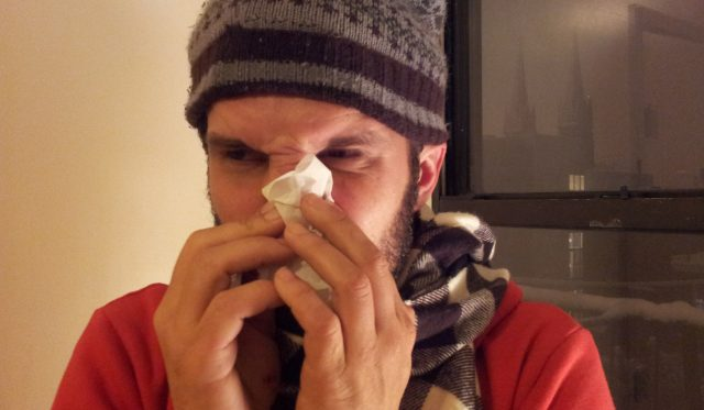 Cold, allergy, what's the difference? Either way you're drowning in snot