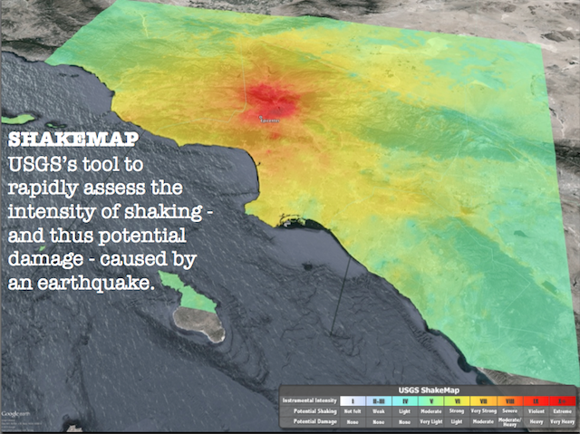 Mapping the shake, rattle and slip of tectonic plates ... on