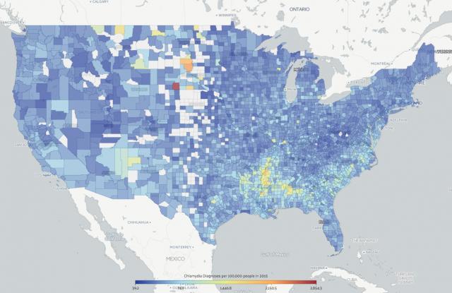 Chlamydia county