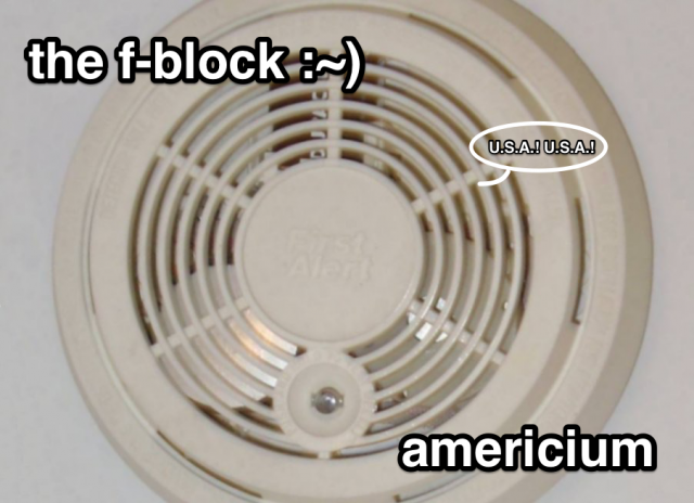 The F-Block: Americium