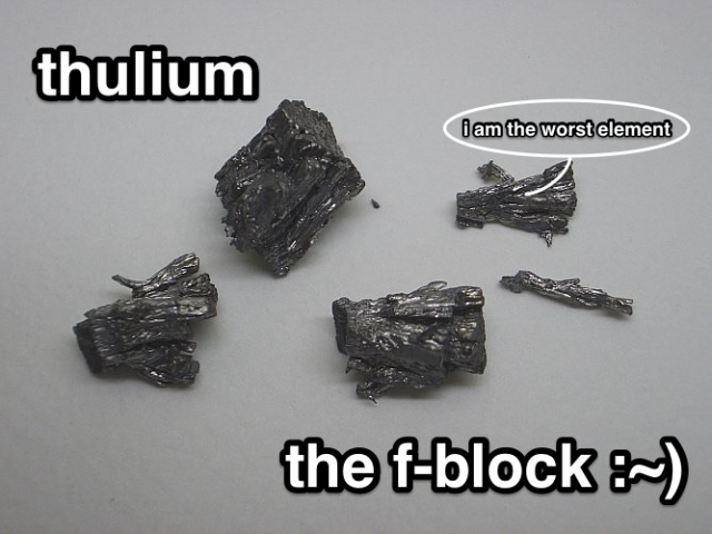 The F-Block: Thulium