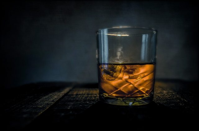 Why does whiskey feel like it burns?