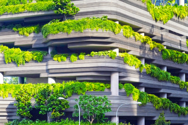 A greener concrete jungle