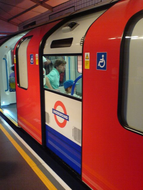 An accessible London subway car put into service in 2009, before the city hosted the 2012 Olympics. Image credit: Martin Deutsch | CC BY-NC-ND 2.0]