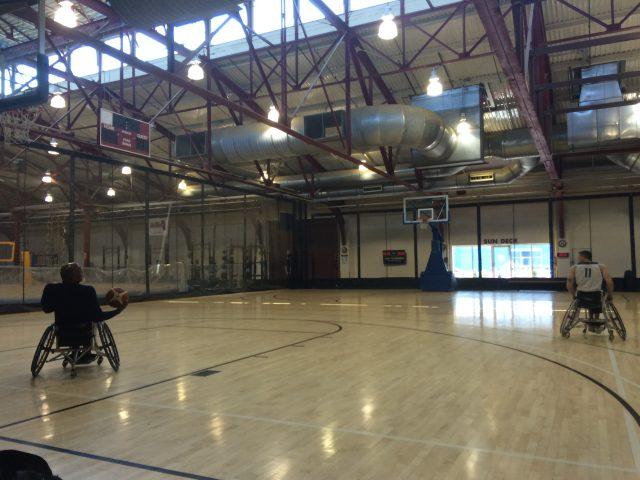 The mathematics of wheelchair basketball