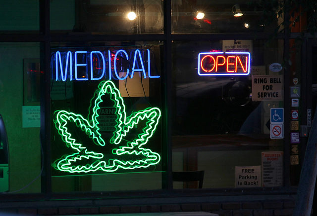 A minor problem with medical marijuana