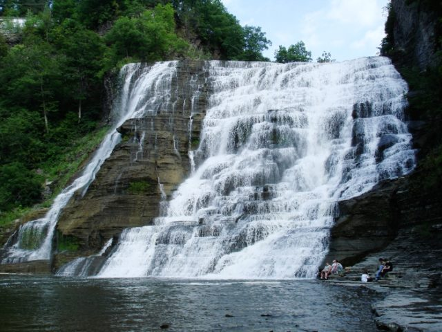Ithaca Waterfall