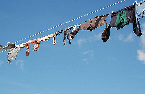 The troubled second life of donated clothes