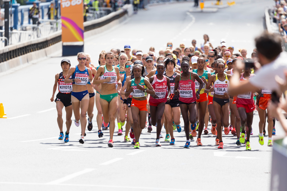 6e7747dbb23b5 The London Marathon was only one the major races last year where an athlete  wearing Nike s controversial Vaporfly shoes took a spot on the podium.