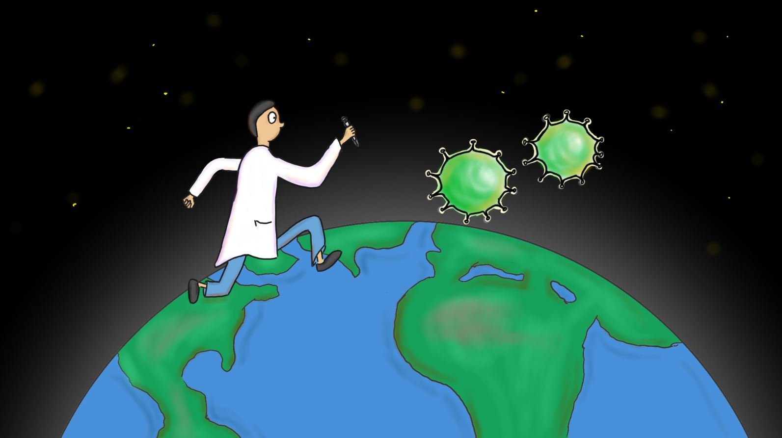 A scientist chases the flu virus around the globe