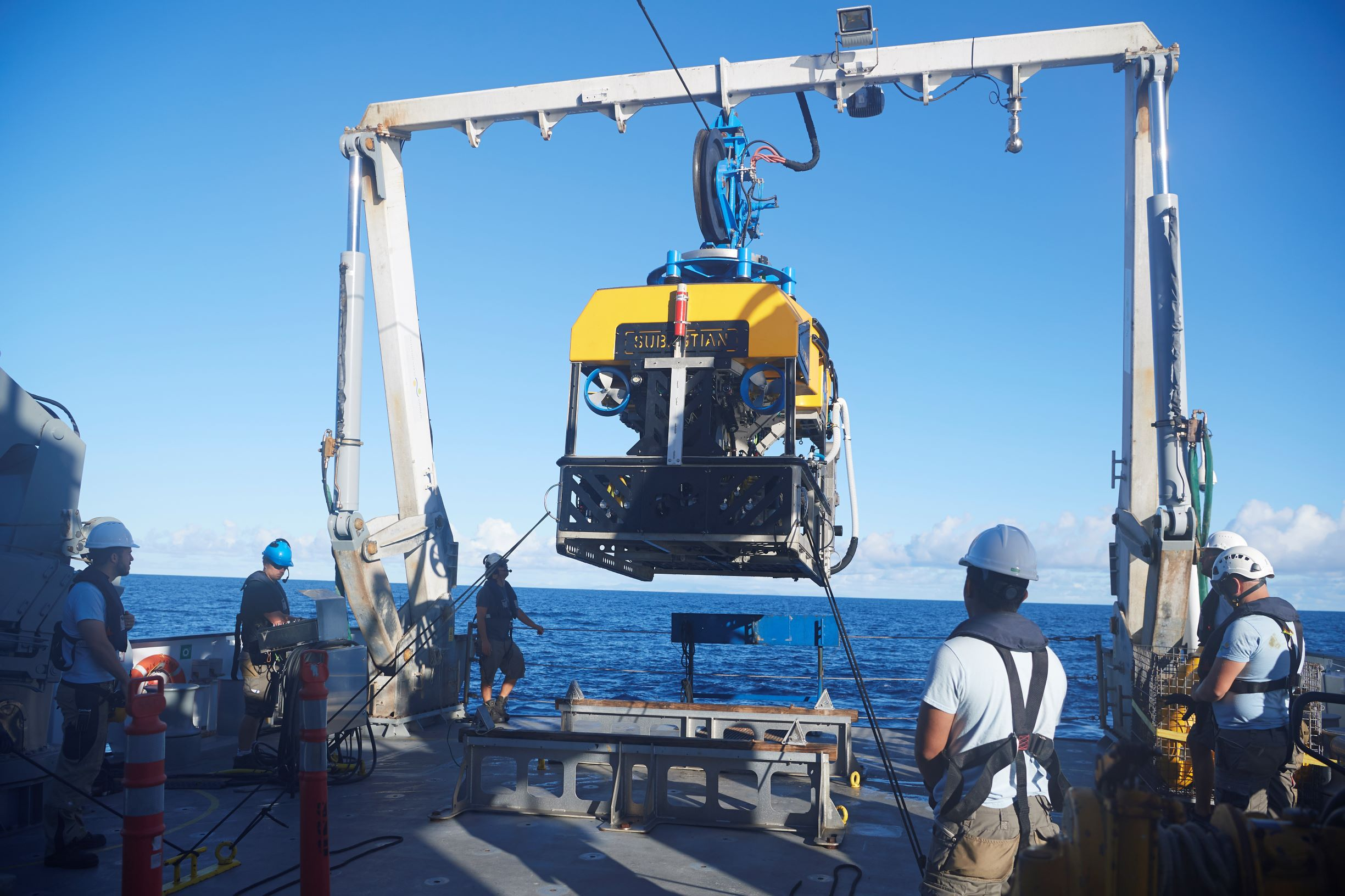 The remotely operated submersible vehicle