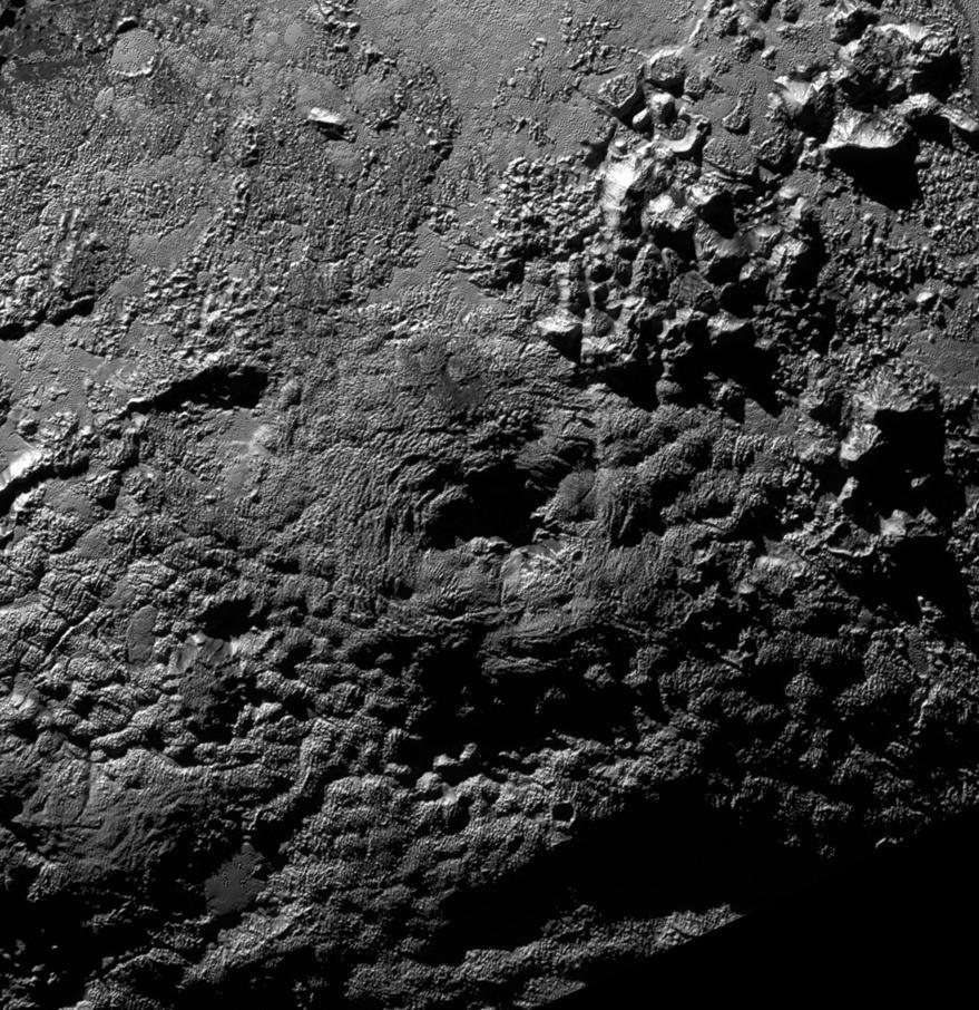 A cryovolcano on Pluto