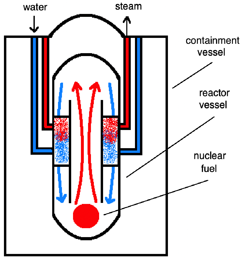 NuScale reactor diagram by Abe Musselman