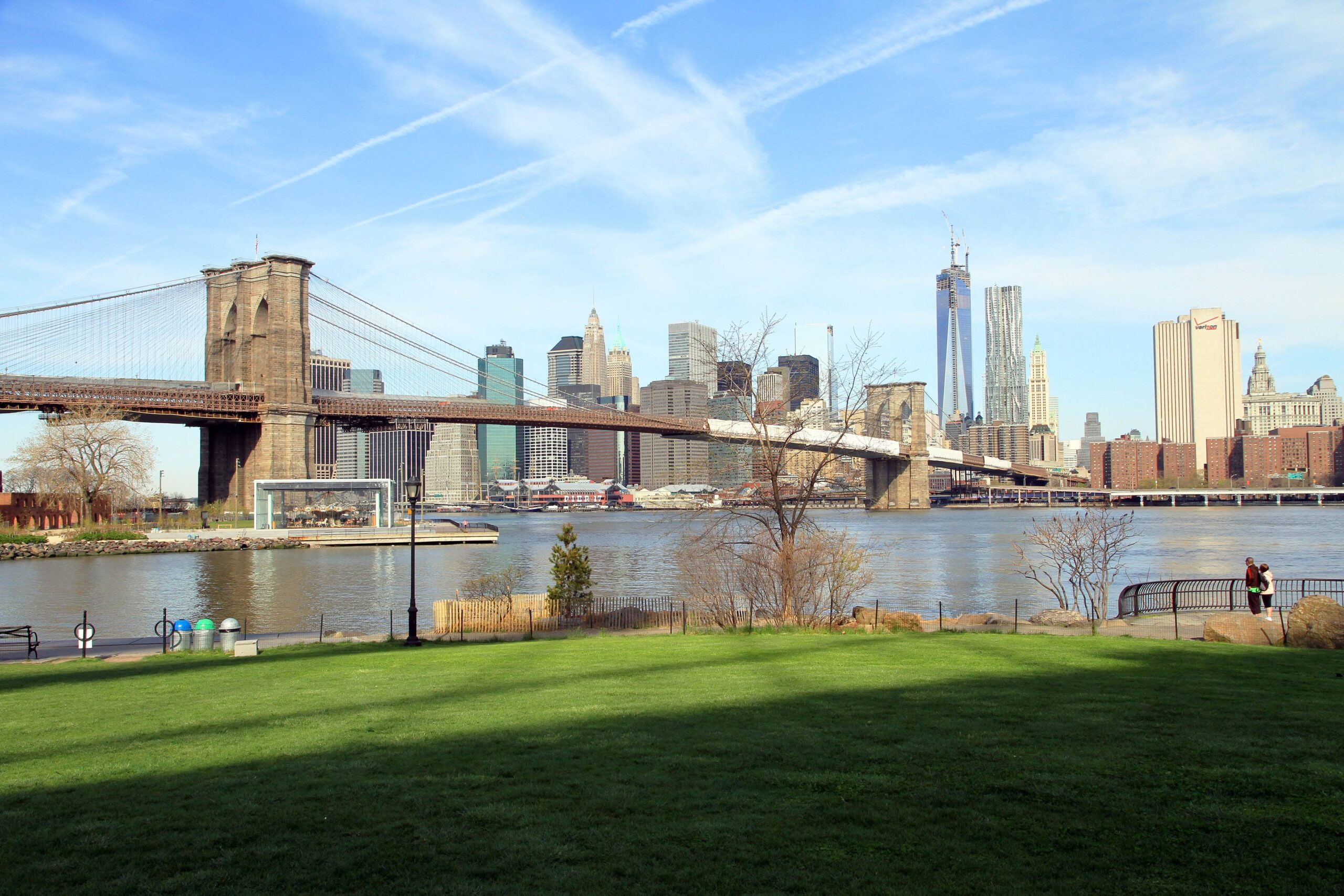 Brooklyn Bridge Park, East River
